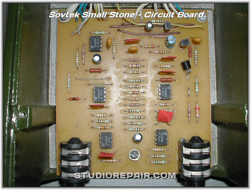 STUDIO REPAIR - Sovtek Small Stone - Circuit Board