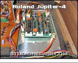 JUPITER-4 CHD JP4-KBD - Keyboard Assigner * CHD JP4-KBD - Roland's Original Keyboard Assigner Board