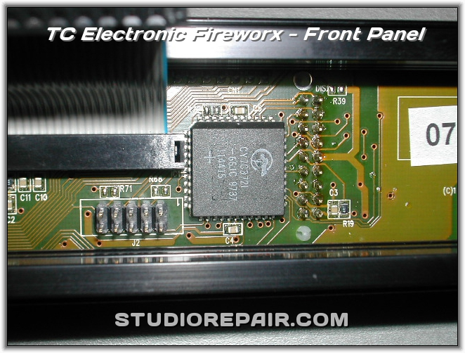 studio repair tc electronic fireworx front panel. Black Bedroom Furniture Sets. Home Design Ideas