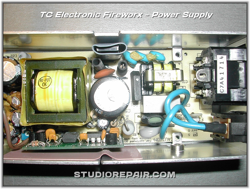 studio repair tc electronic fireworx power supply. Black Bedroom Furniture Sets. Home Design Ideas