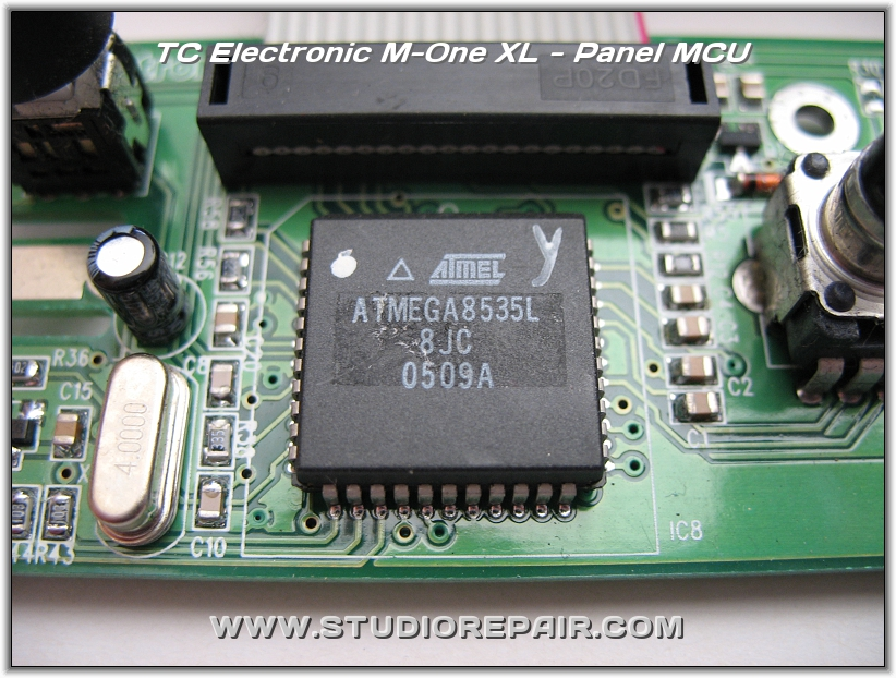 studio repair tc electronic m one xl panel mcu. Black Bedroom Furniture Sets. Home Design Ideas